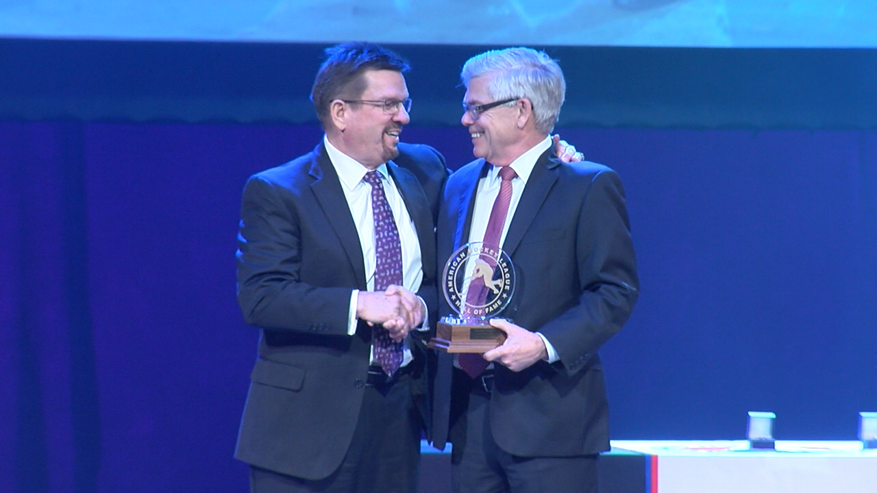 Doug Yingst And Bryan Helmer Inducted Into Ahl Hall Of Fame